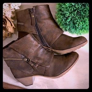 Style & Co. Brown Suede Boots